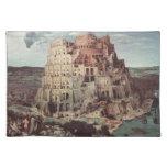 La torre de Babel - Pieter Bruegel la anciano Mantel Individual