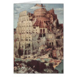 La torre de Babel - Pieter Bruegel la anciano Tarjetas