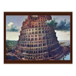 La torre de Babel Por Pieter Bruegel Postales