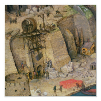 La torre de Babel Póster