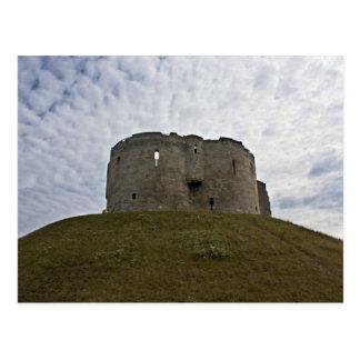 La torre de Clifford - York, Inglaterra Tarjeta Postal
