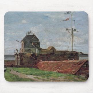 La torre de Francois Ier en Le Havre, 1852 Alfombrillas De Ratón