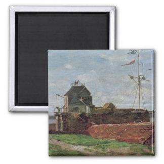 La torre de Francois Ier en Le Havre, 1852 Imán Cuadrado