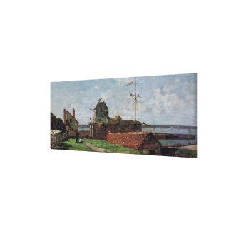 La torre de Francois Ier en Le Havre, 1852 Impresion De Lienzo