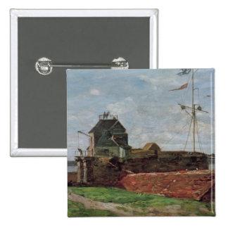 La torre de Francois Ier en Le Havre, 1852 Pin Cuadrado