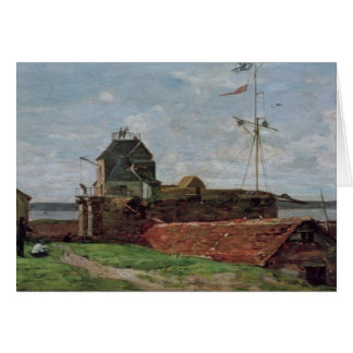 La torre de Francois Ier en Le Havre, 1852 Tarjeta De Felicitación