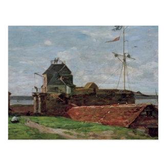 La torre de Francois Ier en Le Havre, 1852 Tarjetas Postales