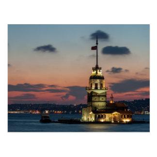 La torre de la doncella tarjetas postales