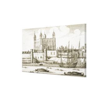 La torre de Londres, 1647 (grabado) Impresión En Lienzo Estirada