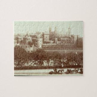 La torre de Londres foto de la sepia Rompecabeza