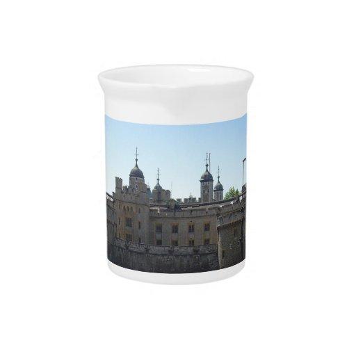 La torre de Londres Jarra Para Bebida