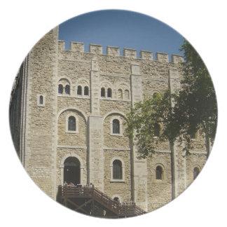 La torre de Londres Plato De Comida