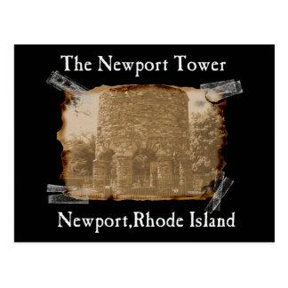 la torre de Newport Tarjeta Postal