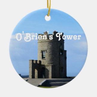 La torre de O'Brien Adorno Redondo De Cerámica