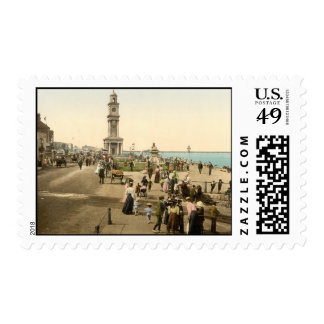 La torre de reloj, bahía de Herne, Kent, Sellos
