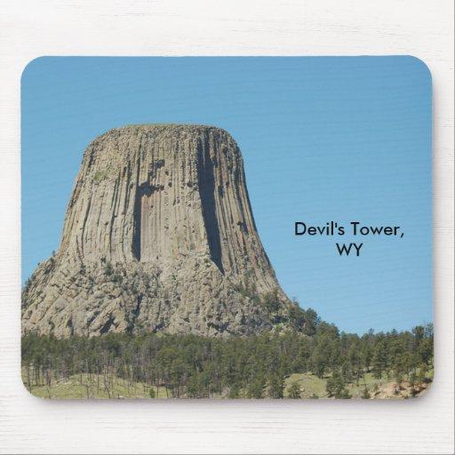 La torre del diablo, WY Tapetes De Ratones
