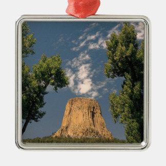 La torre del diablo Wyoming los E E U U Ornamento De Navidad