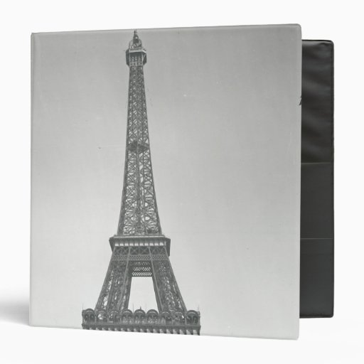 """La torre Eiffel, 1887-89 Carpeta 1 1/2"""""""