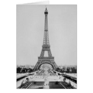 La torre Eiffel 2 Tarjeta De Felicitación