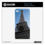 La torre Eiffel Calcomanía Para iPhone 4S