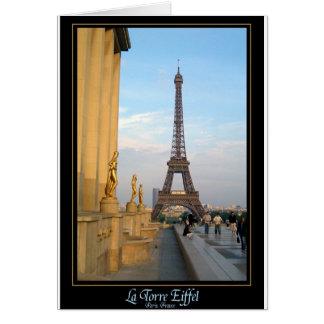 La Torre Eiffel Card
