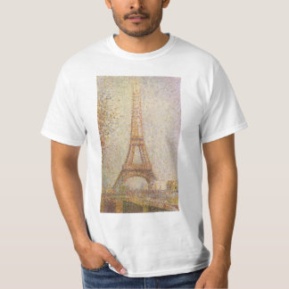 La torre Eiffel de Jorte Seurat Playera