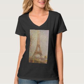 La torre Eiffel de Jorte Seurat Remera
