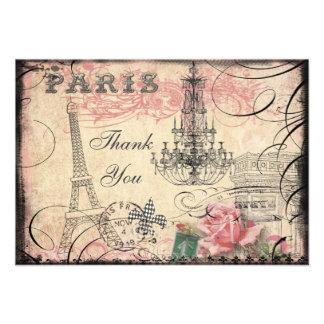 La torre Eiffel elegante y la lámpara le agradecen Comunicado Personal