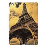 La torre Eiffel en París Francia iPad Mini Carcasas