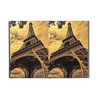 La torre Eiffel en París Francia iPad Mini Carcasa