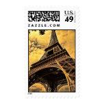 La torre Eiffel en París Francia Sellos