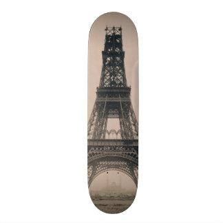 La torre Eiffel: Estado de la construcción 1888 Monopatin Personalizado