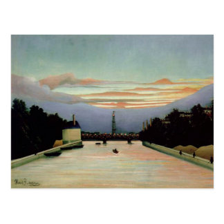 La torre Eiffel Henri Rousseau 1898 Postal