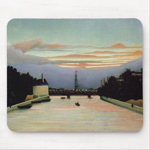 La torre Eiffel Henri Rousseau 1898 Alfombrilla De Ratón