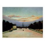 La torre Eiffel Henri Rousseau 1898 Tarjetas Postales