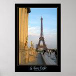 La Torre Eiffel (la torre de Effiel) Póster