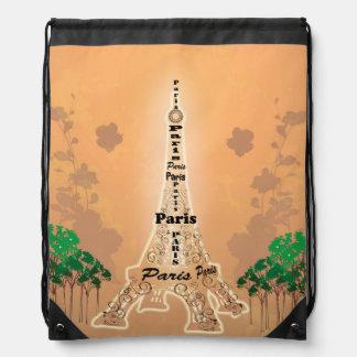 La torre Eiffel Mochilas