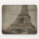 La torre Eiffel, mousepad de París Alfombrillas De Ratones