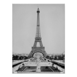 La torre Eiffel Impresiones