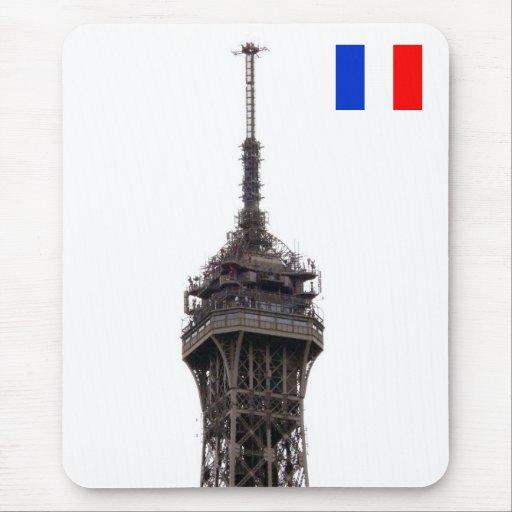 La torre Eiffel París Francia Alfombrillas De Ratón