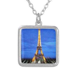 La torre Eiffel París Francia Colgante Cuadrado
