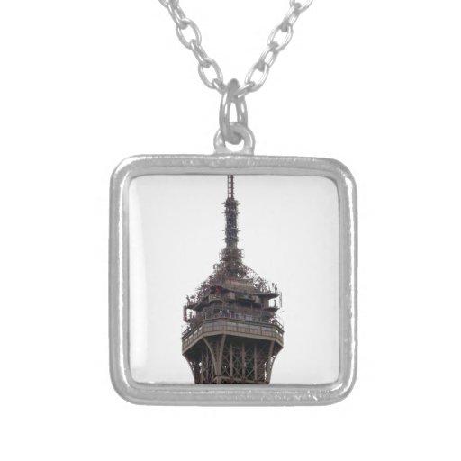 La torre Eiffel París Francia Colgantes Personalizados