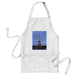 La torre Eiffel París Francia Delantal