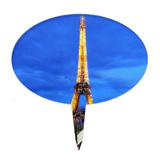 La torre Eiffel París Francia Figura De Tarta