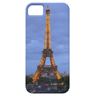 La torre Eiffel París Francia Funda Para iPhone 5 Barely There