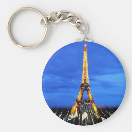 La torre Eiffel París Francia Llavero