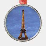 La torre Eiffel París Francia Ornamentos De Reyes