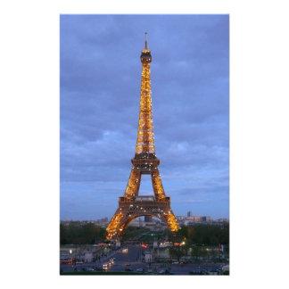 La torre Eiffel París Francia Papeleria Personalizada