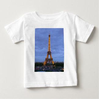 La torre Eiffel París Francia Playera De Bebé