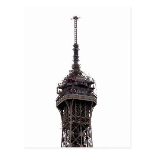 La torre Eiffel París Francia Postal